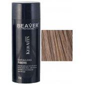 keratine haarvezels 28 gram lichtbruin toppik hair building fibres vezels voor goede haargroei dikker haar