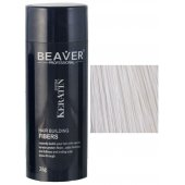 keratine haarvezels 28 gram wit kopen beaver keratin natural hair fibers minoxidil verandert